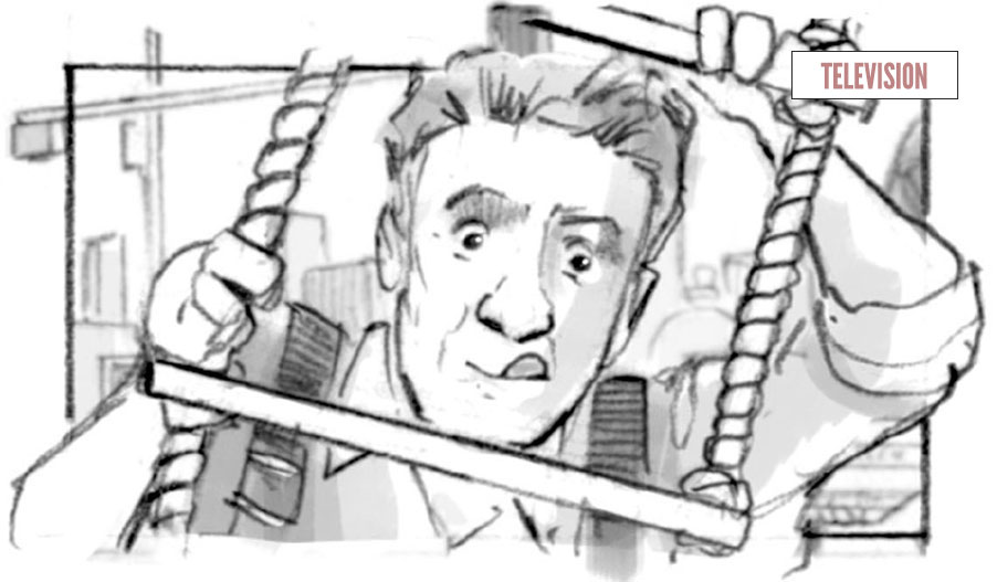 Douglas Ingram   Storyboard Artist London